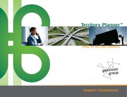 Territory Planner – Rut Optimizasyonu