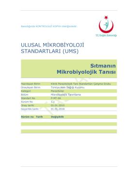 Sıtma - Türkiye Halk Sağlığı Kurumu