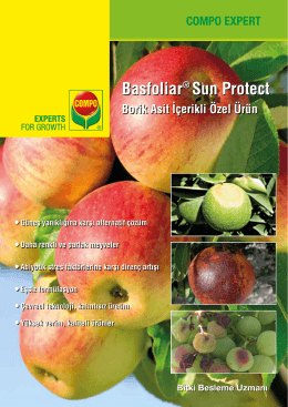 Basfoliar® Sun Protect Basfoliar® Sun Protect