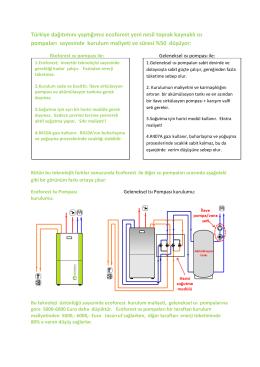 Ecoforest toprak kaynaklı ısı pompalarında kurulum maliyeti ve