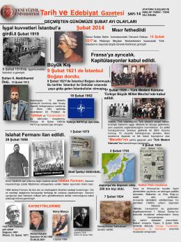 Tarih ve Edebiyat Gazetesi