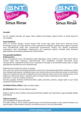 Sinus Rinse Sinus Rinse