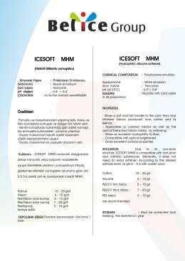 ıcesoft mhm - Belice Kimya