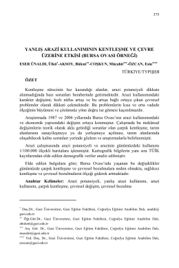 ESER ÜNALDI, Ülkü-AKSOY, Bülent-COŞKUN, Mücahit