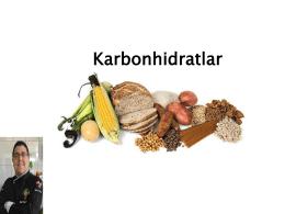 Karbonhidratlar Sunumu - gastronomi