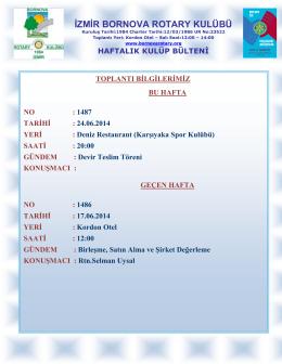 İndir - Bornova Rotary Kulübü