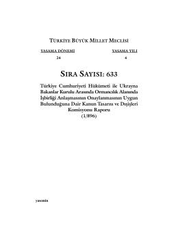 633 - Türkiye Büyük Millet Meclisi
