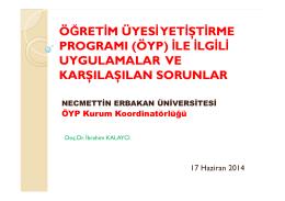 3 - Necmettin Erbakan Üniversitesi