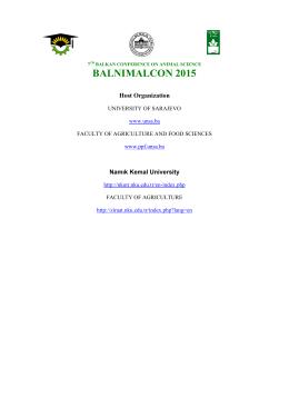host organızatıon - BALNİMALCON 2015
