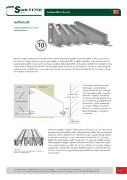 IsoKonsol - Schletter GmbH