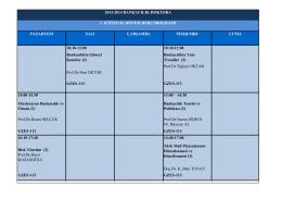 10:30-12:00 10:30-12:00 Bankacılıkta Güncel Konular (2)