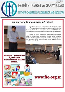Sayı- 15 - Fethiye Ticaret ve Sanayi Odası
