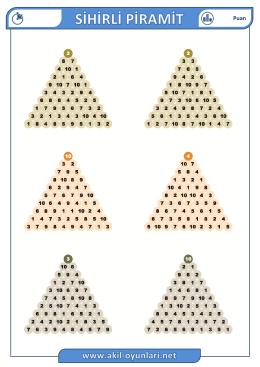 sihirli piramit soru paketi indir