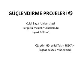 HATALI YAPILAR - Celal Bayar Üniversitesi