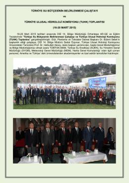 Sonuç Raporu - Devlet Su İşleri Genel Müdürlüğü