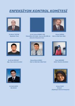 enfeksiyon kontrol komitesi - Erzurum Ağız ve Diş Sağlığı Merkezi