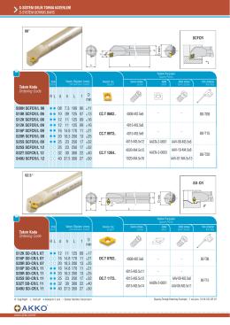 ssistem delik torna katerleri s-system borıng bars cc.t 0602