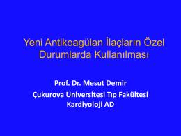 Mesut Demir - 4. atriyal fibrilasyon zirvesi 2015