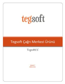 TEGSOFT Çağrı Merkezi Broşür