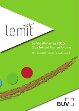 LeMit Almanya 2015 - LeMit Deutschland 2015