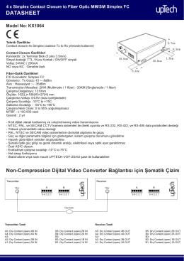 KX1064 DATASHEET TR