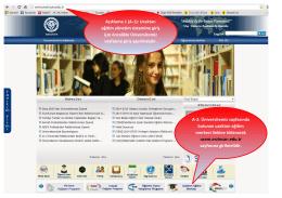 Öğrenci Sisteme Giriş Broşürü - Erzincan Üniversitesi