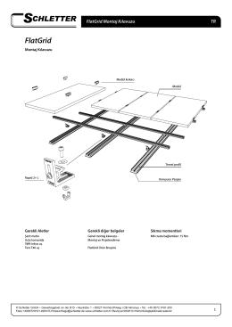 FlatGrid - Schletter GmbH