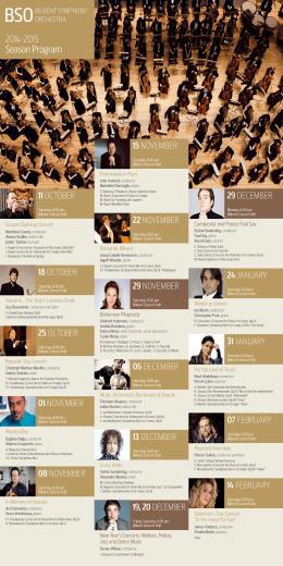 2014-2015 Season Program