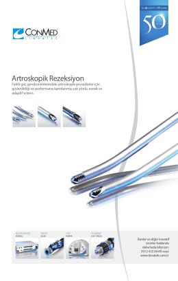 Artroskopik Rezeksiyon - Linvatek Ortopedi A.Ş.