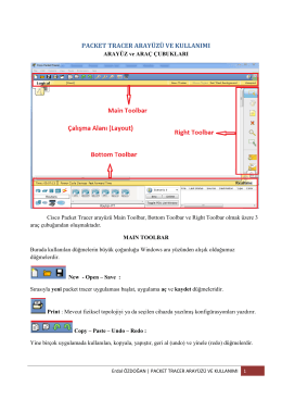 PACKET TRACER ARAYÜZÜ VE KULLANIMI