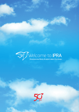 Welcome to IPRA