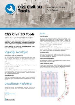 CGS Civil 3D Tools