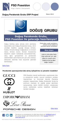 Doğuş Perakende Grubu ERP Projesi