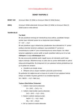 İndir (PDF, 166KB) - Kimya Ders Notları