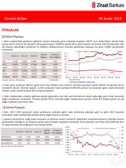 9 Aralık 2014 tarihli piyasa yorumu