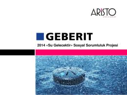 2014 «Su Gelecektir» Sosyal Sorumluluk Projesi