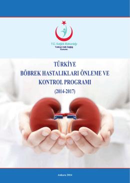 türkiye böbrek hastalıkları önleme ve kontrol programı