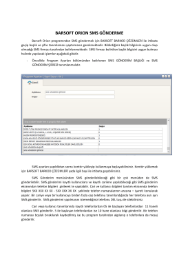 Barsoft Orion SMS PDF