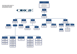 orge enerji elektrik taahhüt a.ş. genel organizasyon şeması son