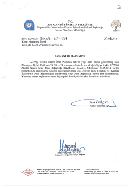 Gündemin 51.Maddesi - Antalya Belediyesi