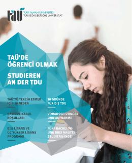 Fakülte ve Bölümler Kataloğu - Türk