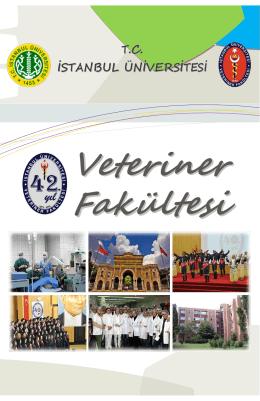 Tanıtım Rehberi - İstanbul Üniversitesi | Veteriner Fakültesi