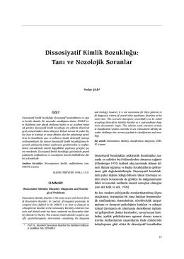 PDF - Klinik Psikiyatri Dergisi
