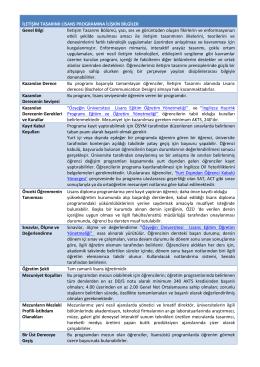 İletişim Tasarımı - Özyeğin Üniversitesi