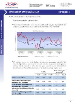 2011 ıv. çeyrek strateji raporu makroekonomik gelişmeler 28/01/2014