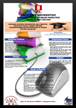 PDF Belgesi - Sosyal Hizmetler