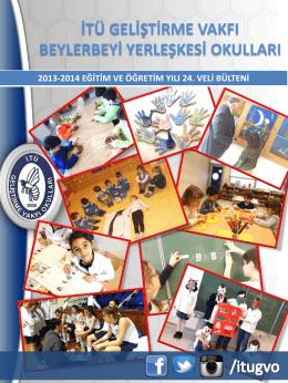veli bülteni-24 - İTÜ Geliştirme Vakfı Okulları