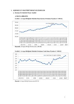 Şubat 2014 Kırmızı Et, Yem ve Süt Sektörü Analizi