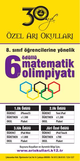 Broşür 2014.indd - Özel Arı Okulları