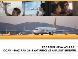 2014 2. Çeyrek Yatırımcı Sunumu